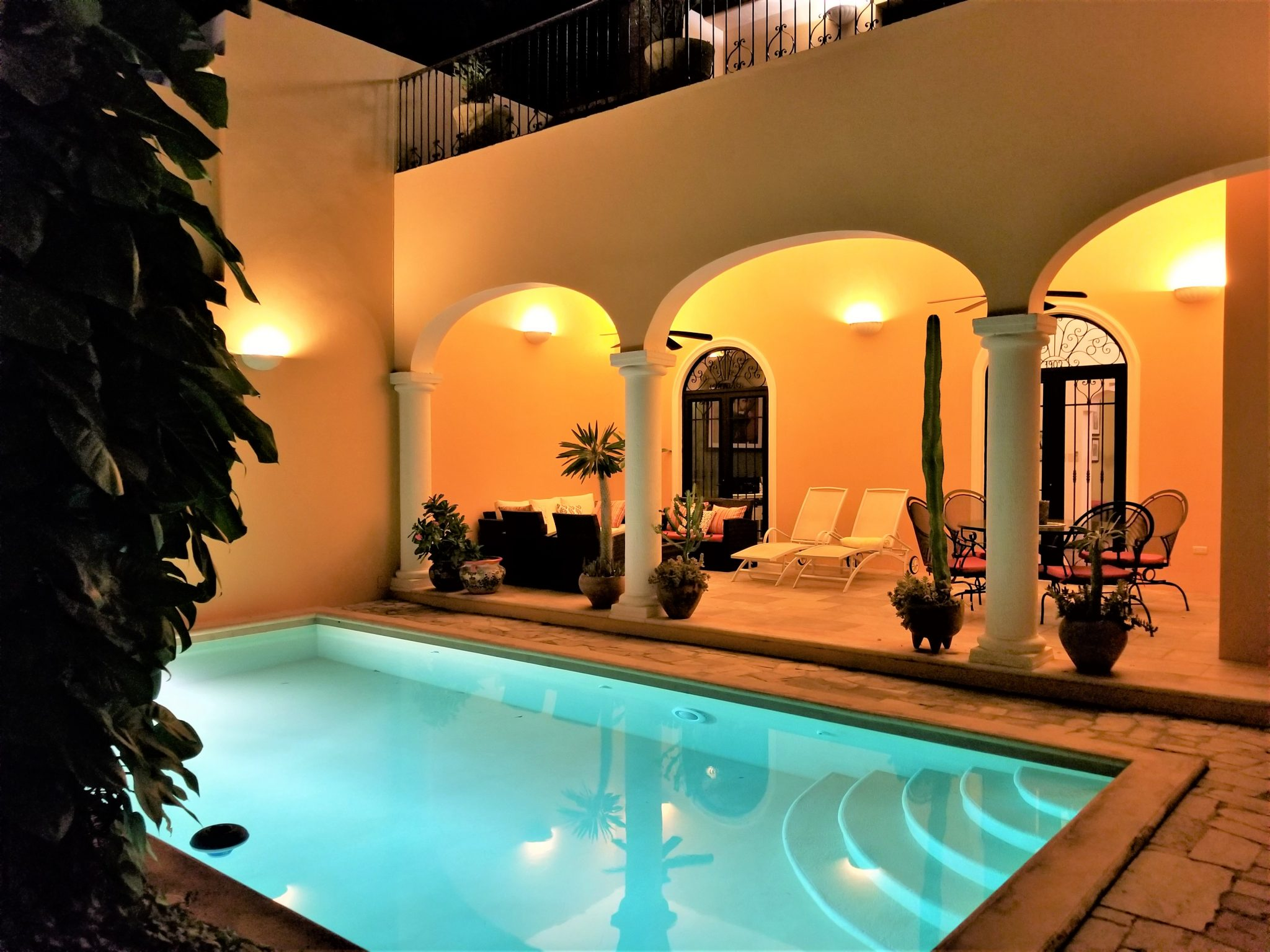 Private Pool and Covered Patio